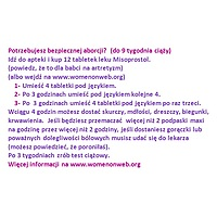 Misoprostol sticker polish