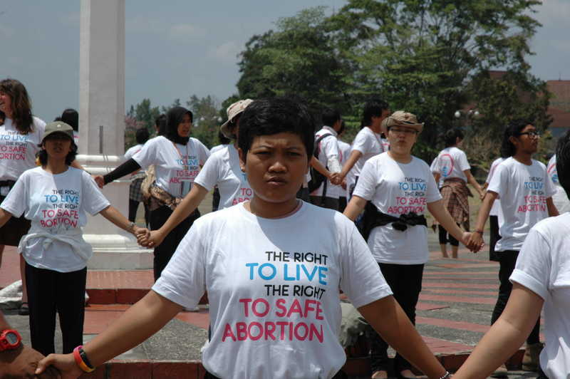 flashmob indonesia close up