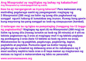 misoprostol sticker filipino
