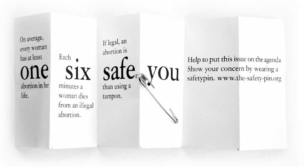 The-safety-pin Flyer