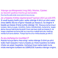is misoprostol sold in kenya