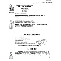 Valencia court papers