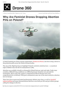 Why Are Feminist Drones Dropping Abortion Pills on Poland_ - Drone 360 _ Drone 360.pdf