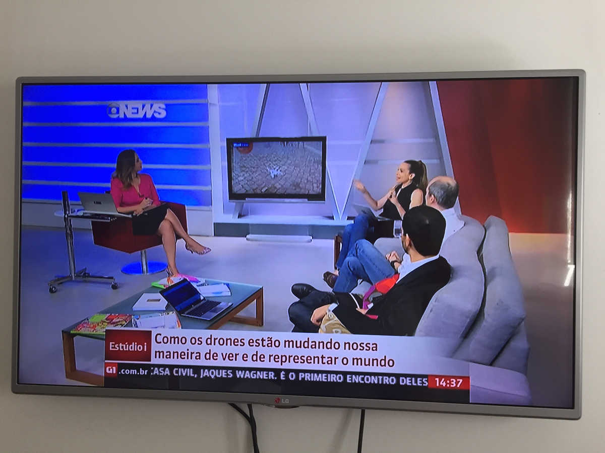 abortion drone on Globo, brazil