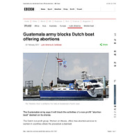Guatemala army blocks Dutch boat offering abortions - BBC News.pdf