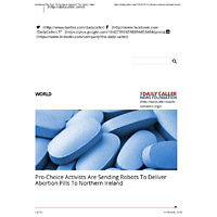 Abortion Pills Sent To Northern Ireland | The Daily Caller.pdf