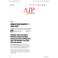 World news wrapup: 7 June 2018 | AJP.pdf