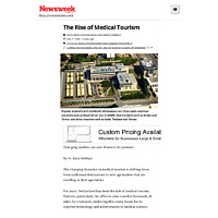 The Rise of Medical Tourism - Newsweek Middle East.pdf