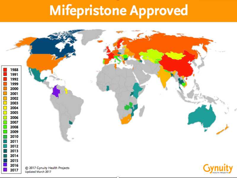 map registration mifepristone