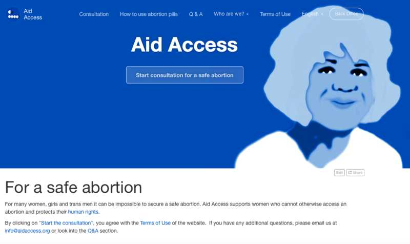 Aid Access screen shot